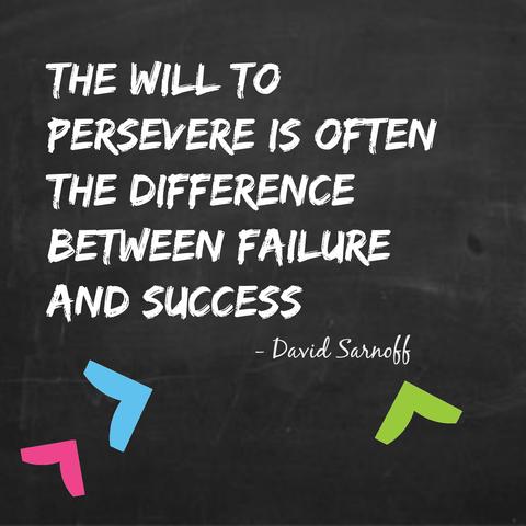 Persevere Quote Springest