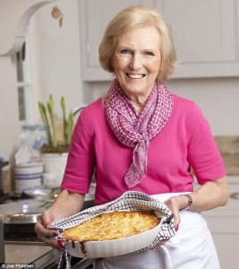 Mary Berry cooking